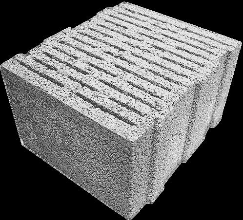Щелевой керамзитобетонный блок «ТермоКомфорт» ТБ 400