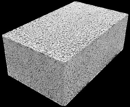 Полнотелый керамзитобетонный блок «ТермоКомфорт» ПБ 300/3