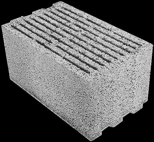 Щелевой керамзитобетонный блок «ТермоКомфорт» ТБ 300