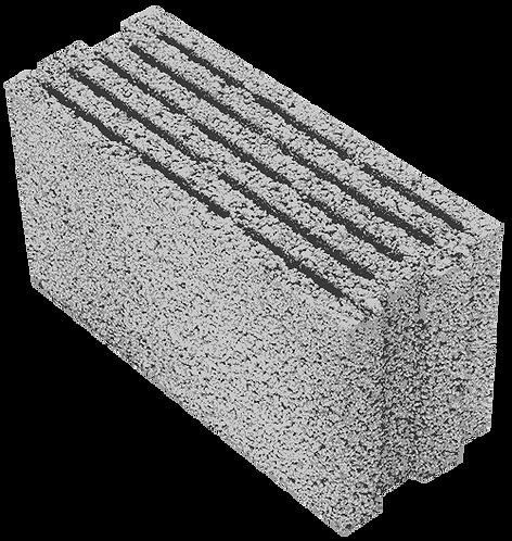 Щелевой керамзитобетонный блок «ТермоКомфорт» ТБ 200