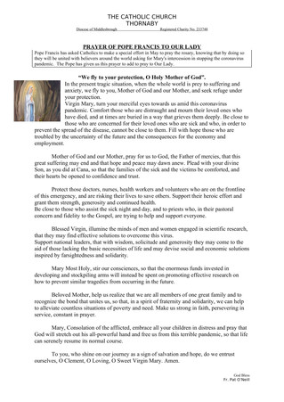 Parish Bulletin - May 9