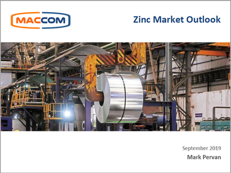 Zinc Market Outlook