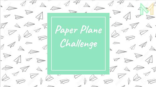 Paper Plane Challenge (K-4)