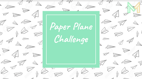 Paper Plane Challenge (5th-8th)