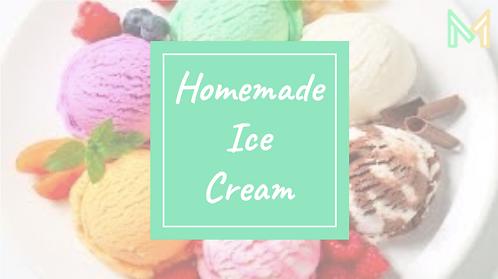 Homemade Ice Cream (5th-8th)