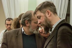 Алексей Лидов и Алексей Муравьев