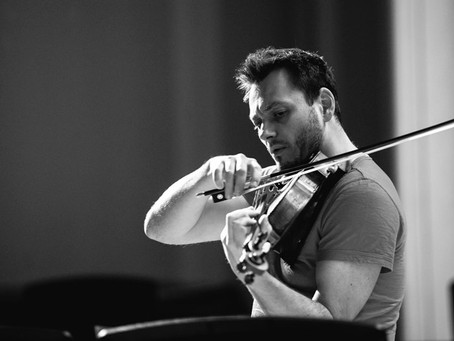 "Sergey Akhunov's interview for special project by violist Maxim Rysanov ""In Schubert's"
