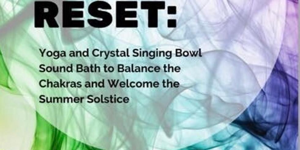 Rainbow Reset: Yoga, Sound Bath, Chakra Balancing