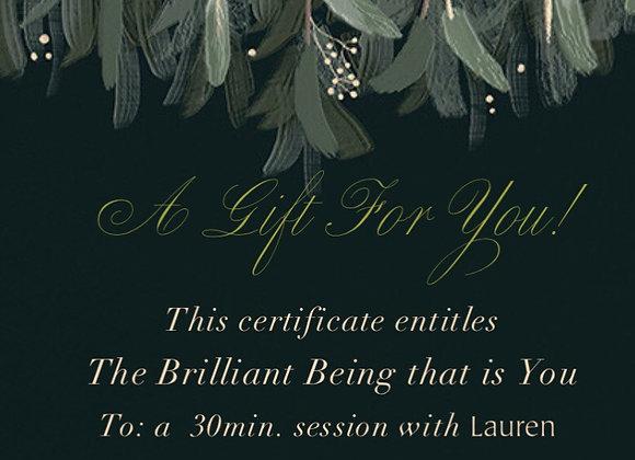 Gift Certificate Custom