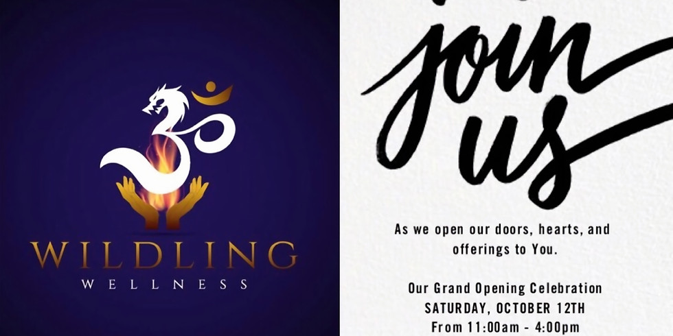 The GRAND OPENING of Wildling Wellness