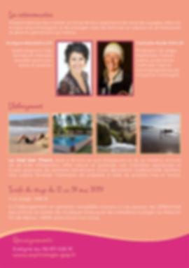 Evelyne Roussillon Stage voyage  de sophrologie au Maroc