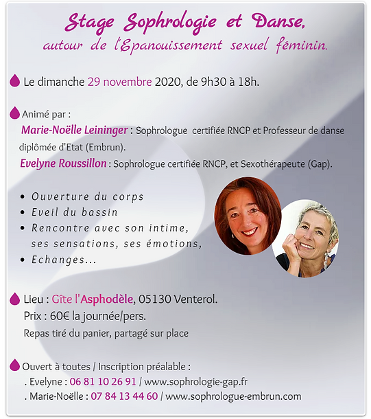 Sexologie sophrologie Gap