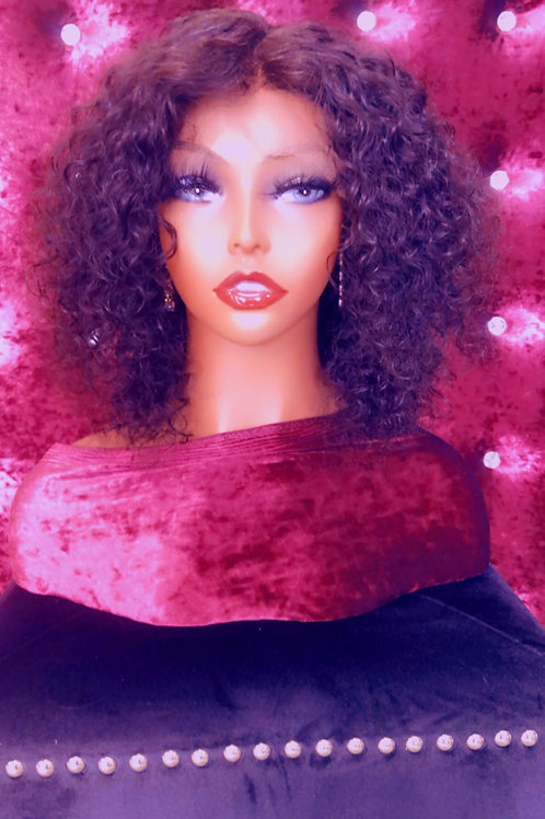 Jasmine (Water Wave) Front Lace Bob Wig