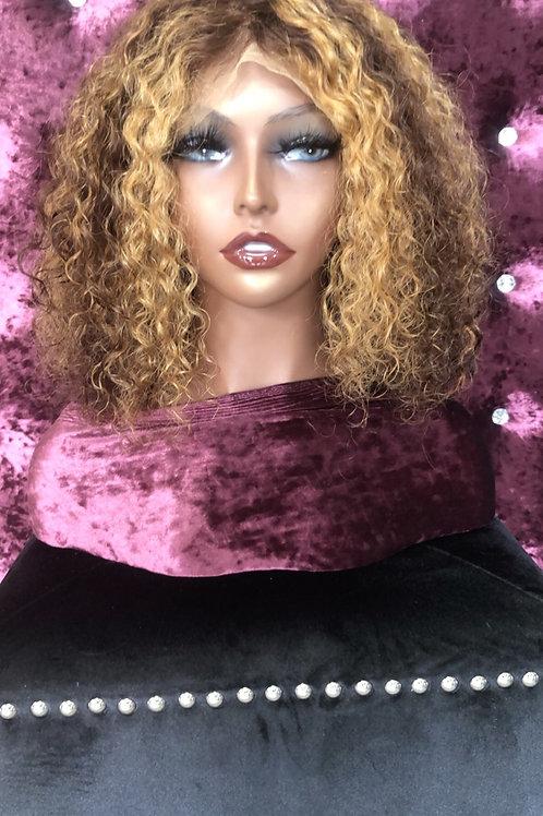 Nadia (Water Wave) Lace Frontal Bob Wig