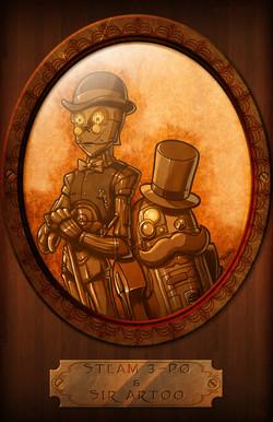 steam 3p0 and sir Artoo