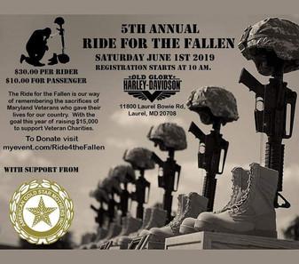 5th Annual Ride For The Fallen