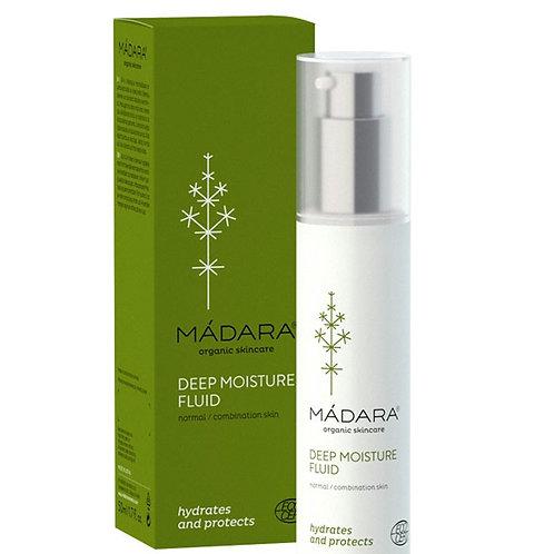 MÀDARA Deep Moisture fluido giorno pelle normale/mista 50 ml