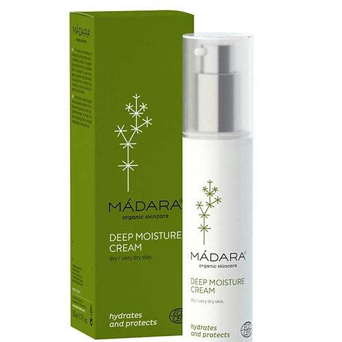 MÀDARA Deep Moisture crema giorno pelle secca 50 ml