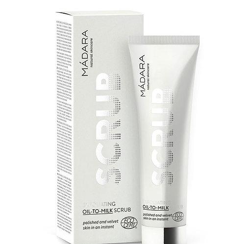 MÀDARA scrub viso oil-to-milk