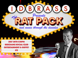 IDB Present The Rat Pack and music through the decades