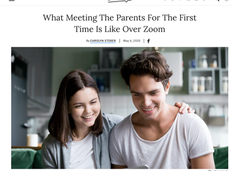 """Meeting The Parents"", Pandemic Style."