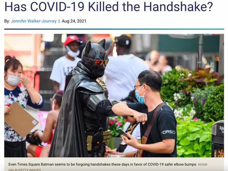 Hand Shaking Is Dead?
