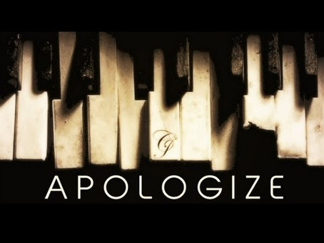 It's Too Late To Apologize? (it is if you do it wrong)
