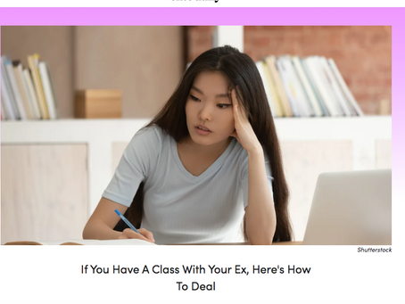 So You Have Class With Your Ex: Now What?