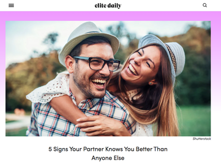 How Well Does Your Partner Know You? (do they know you well enough?)