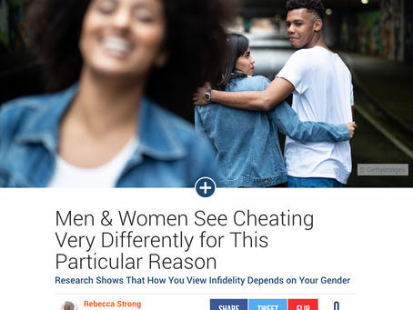 Men & Women See Cheating Very Differently for This Particular Reason