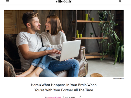 Here's Your Brain On Too Much Relationship Time