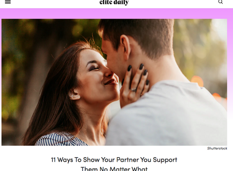 How To Support Your Partner Unconditionally
