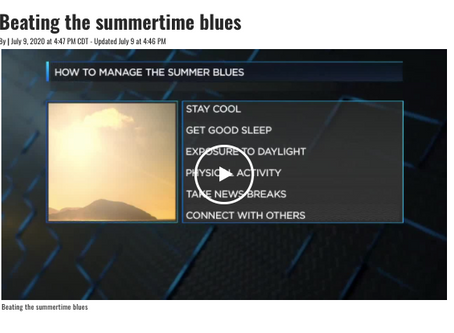 Summer Blues? Here's What To Do.