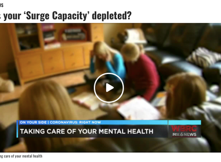 Is Your Surge Capacity Depleted?