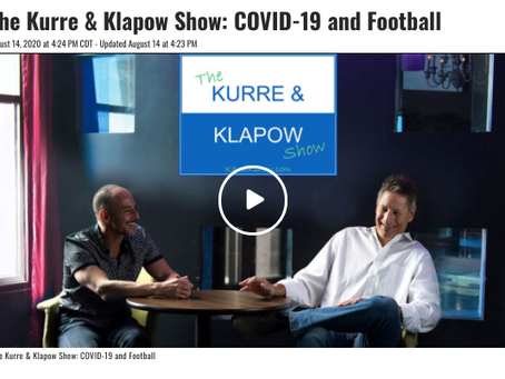 COVID and Football According To Kurre and Klapow