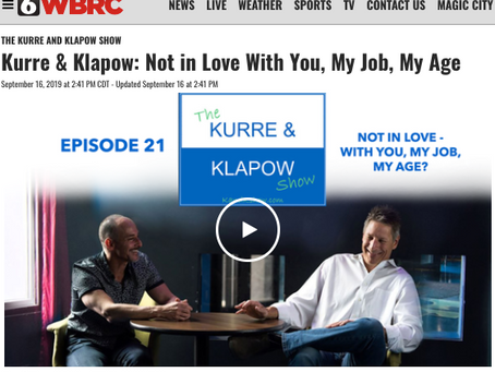 Kurre and Klapow TV: Not In Love - With You, My Job or My Age