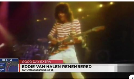 Remembering Eddie Van Halen