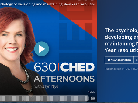 630 CHED: Dr. Josh Talks Resolutions in Canada