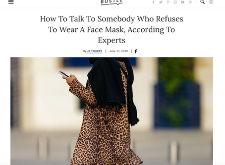How To Talk To Somebody Who Refuses To Wear A Face Mask
