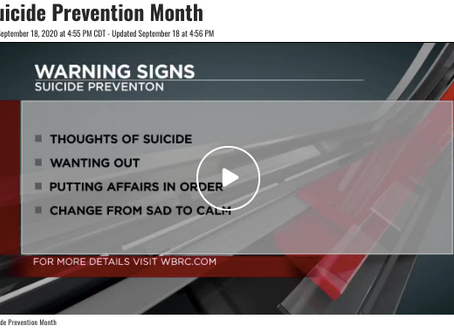 Suicide Prevention: What We Need To Know