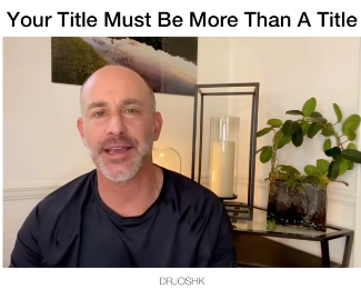 Your Title Needs To Me More Than That.