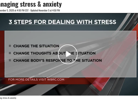 Getting Stress Under Control.