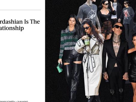 Bustle Interview:                         Kourtney Kardashian Is The Ultimate Relationship Chameleon