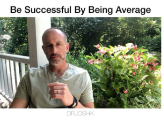 Average is the Key to Success