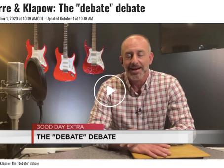 The Debate Debate