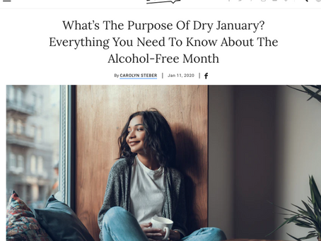 Dry January Challenge? Here's How You Can Succeed.