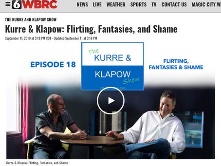 The Kurre and Klapow Show: Flirting, Fantasies and Shame