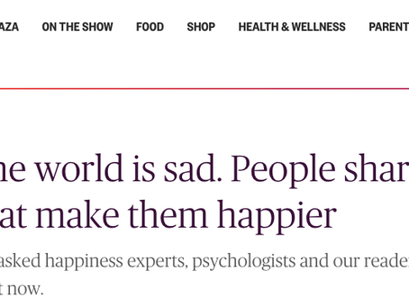 Today Show: Dr. Josh Offers Tips For Happiness