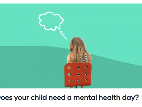 Does your child need a mental health day?