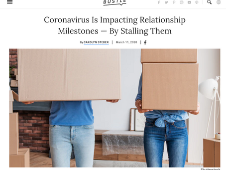 Unintended Consequences of the Coronavirus: Relationships